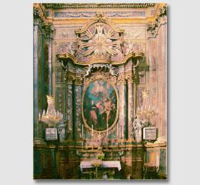 La cappella di San Antonio e San Giovanni Battista del Santuario di Sommariva del Bosco
